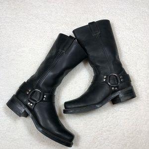 Women's Black Frye Boots